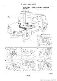 nissan patrol 1998 y61 5 g brake system workshop manual