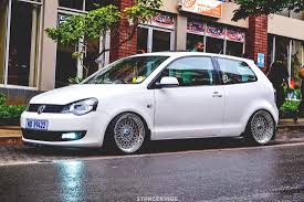 volkswagen polo black modified blog durban drags