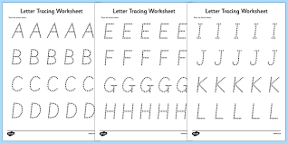 numbers and shapes tracing worksheet fine motor skills