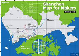Metro North Map Pdf by Shenzhen Map For Makers Pdf Makerbusiness Adafruit Industries