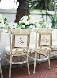 and groom chair signs chair sign ideas for and groom chairs trendy wedding