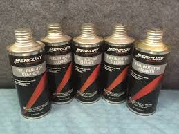 5 bottles of oem mercury fuel injector cleaner 92 858081k02 92