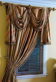 Swag Valances For Windows Designs Valances For Windows Fishtail Swag Curtains How To Make A Swag
