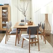 dining table black dining table set with leather chairs dark