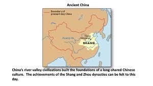 Ancient China Map Ancient China China U0027s River Valley Civilizations Built The