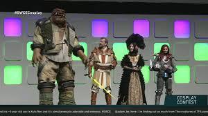 star wars celebration europe 2016 costume contest star wars show