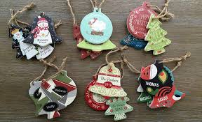 personalized christmas ornaments set of 3 qualtry