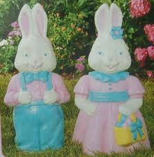 easter decoration s general foam plastics corp easter bunnies