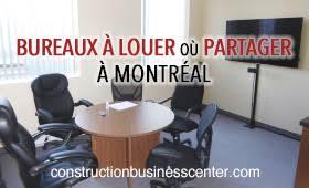 bureau à partager location partage de bureau et local commercial montreal canada