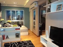 fantastic studio apartment design concept in modern home interior