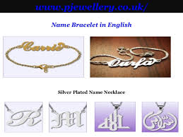 Name Plates Jewelry Name Plates Necklaces
