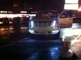 cadillac escalade fog lights escalade with led lights and strobes