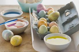 a guide to coloring easter eggs
