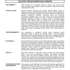 warehouse resume exles warehouse resume sles 13 warehouse resume sle exles best
