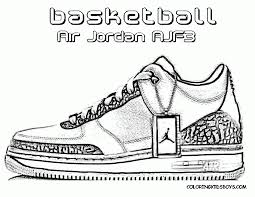 simple michael jordan coloring page free printable coloring pages