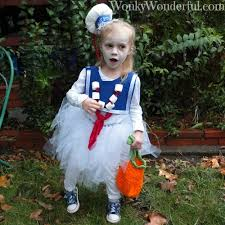 stay puft marshmallow costume my handmade wonkywonderful
