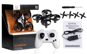 amazon com guardian drones puma mini quadcopter drone 2 4 ghz 4