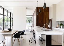 cuisine moderne ouverte sur salon cuisine américaine ouverte sur salle à manger