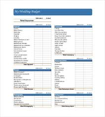 wedding budget printable wedding budget checklist world of exle