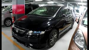 jdm cars honda 2005 honda odyssey absolute at japanese jdm car auction youtube