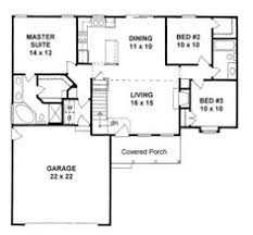 Exciting Small House Plans With Garage Attached Images Best Idea Floor Plans With Garage