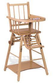 chaise haute en bois pour bébé calligari shop