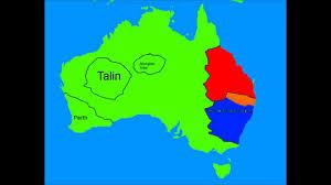 Australian States Map by Alternate Future Of Australia Part 1 Youtube