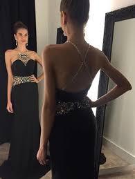 black prom dresses elegant evening dresses long formal gowns