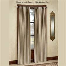Extra Wide Drapes Wide Window Curtains French And Patio Door Panels Touch Of Class