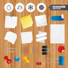 bureau d 騁ude cvc des feuilles de papier bureau autocollants d affaires broche clip
