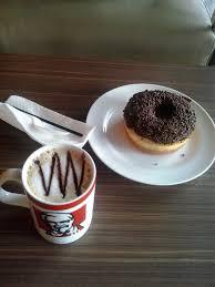 Coffee Kfc kfc coffe ibu bedak beraksi