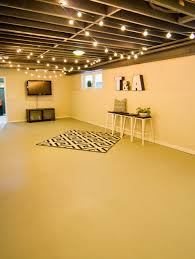 amazing of ideas for unfinished basement cheap unfinished basement