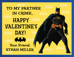 batman valentines card is your partner in crime a batman fanatic then we ve got the