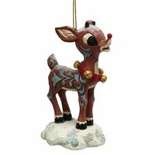 rudolph bumble holidazzle hanging ornament the loft