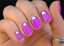 cute little heart nail art designs u0026 ideas 2014 for valentine u0027s
