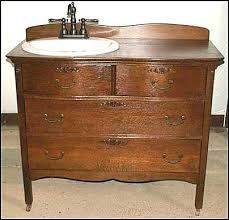 vanities antique dresser made into bathroom vanity for sale
