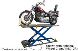motorcycle lift table plans k l hydraulic motorcycle lift mc500r best buy auto equipment