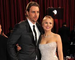 kristen bell and dax shepard adorably fight over furniture