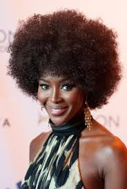 african american 70 s hairstyles for women naomi cbell 70s afro curly hairstyle for black women styles