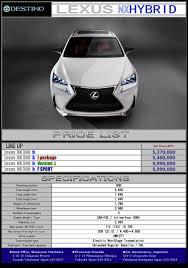 lexus nx300h fuel type lexus nx 300h destino u0027s export new car