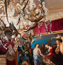 Painting Of Chandelier French 18th Century Art Tim Forrest U0027s E U0026 A Page 6