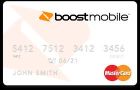 free prepaid debit card boost mobile wallet card phone connected boost mobile