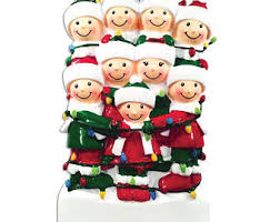 big family ornaments etsy