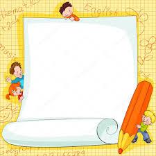 immagini cornici per bambini cornici su scuola â vettoriali stock â usikova 8529847