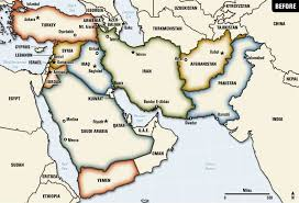 mid east map a map of a future middle east leftymitt
