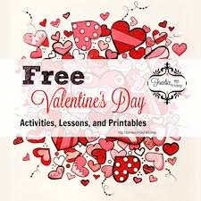 free valentine u0027s day activities lessons and printables hip