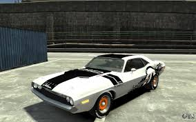 Dodge Challenger Rt Horsepower - dodge challenger r t hemi 1970 for gta 4