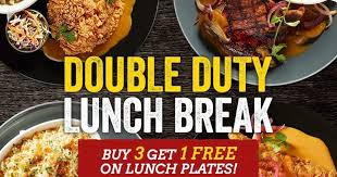 tgifridays launches the duty lunch breaks 3 1 weekday