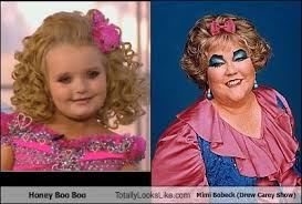 Drew Carey Meme - honey boo boo totally looks like kathy kinney mimi bobeck drew