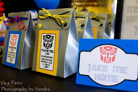 transformer party favors 17 totally cool transformers party ideas spaceships and laser beams